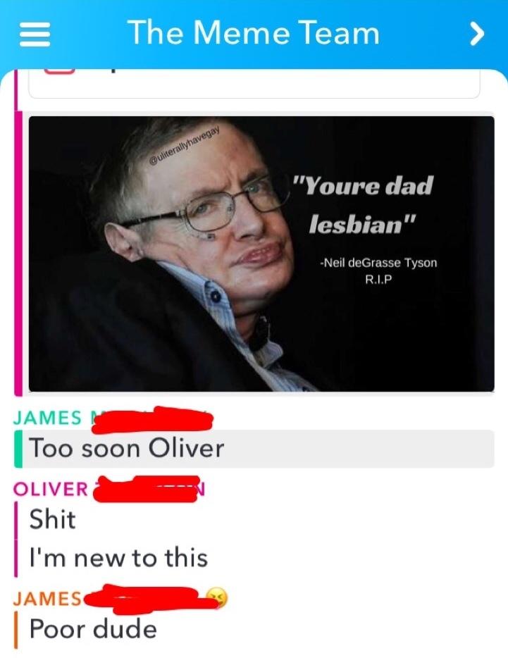 R.I.P Stephen Hawking - meme