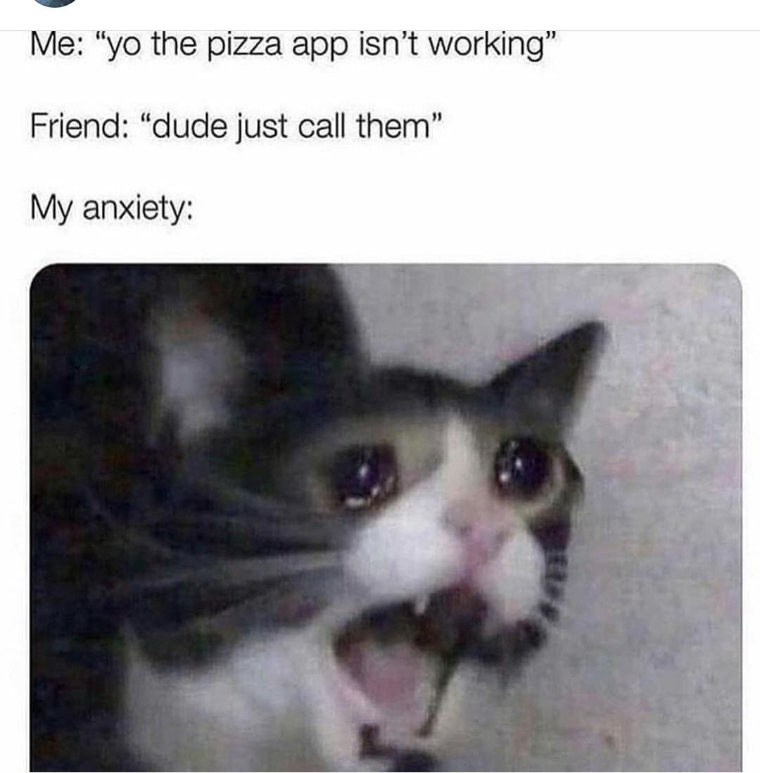 Anxiety 100 - meme
