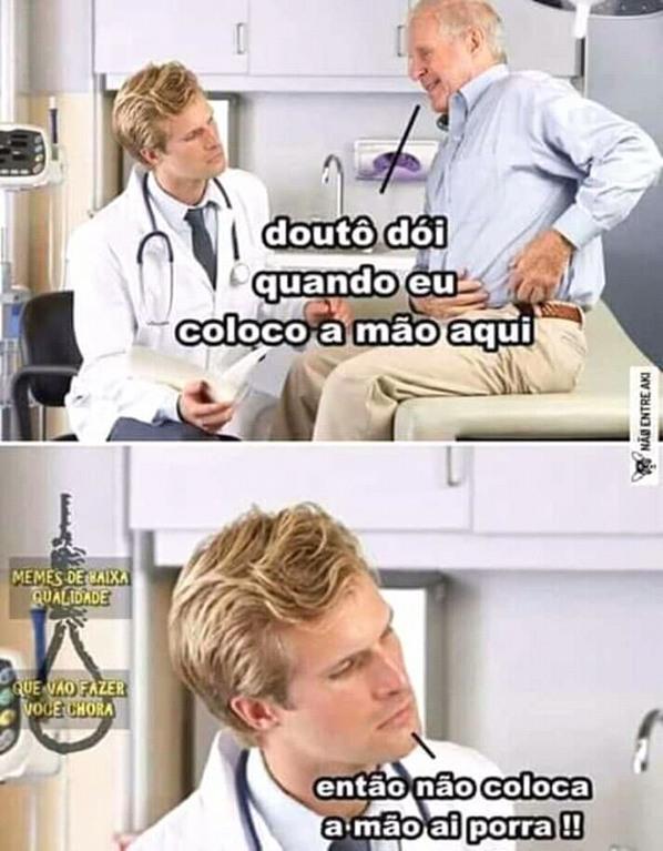 Paciente burro - meme
