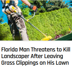 Beware of Florida Man - meme