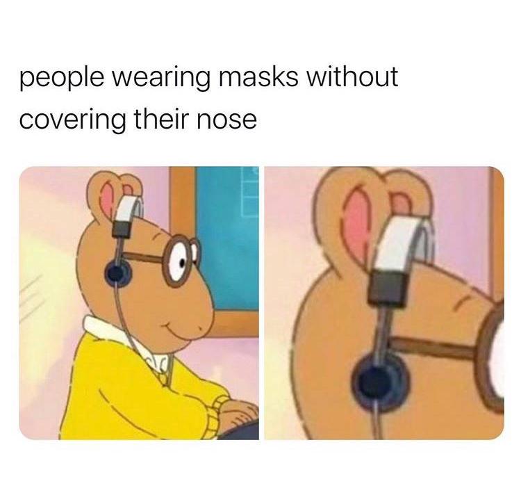 just don't wear one - meme