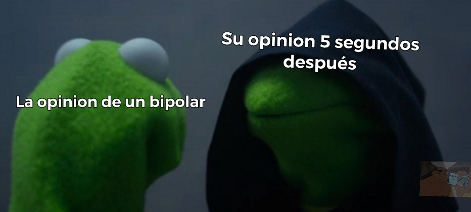 Kermit malvado - meme
