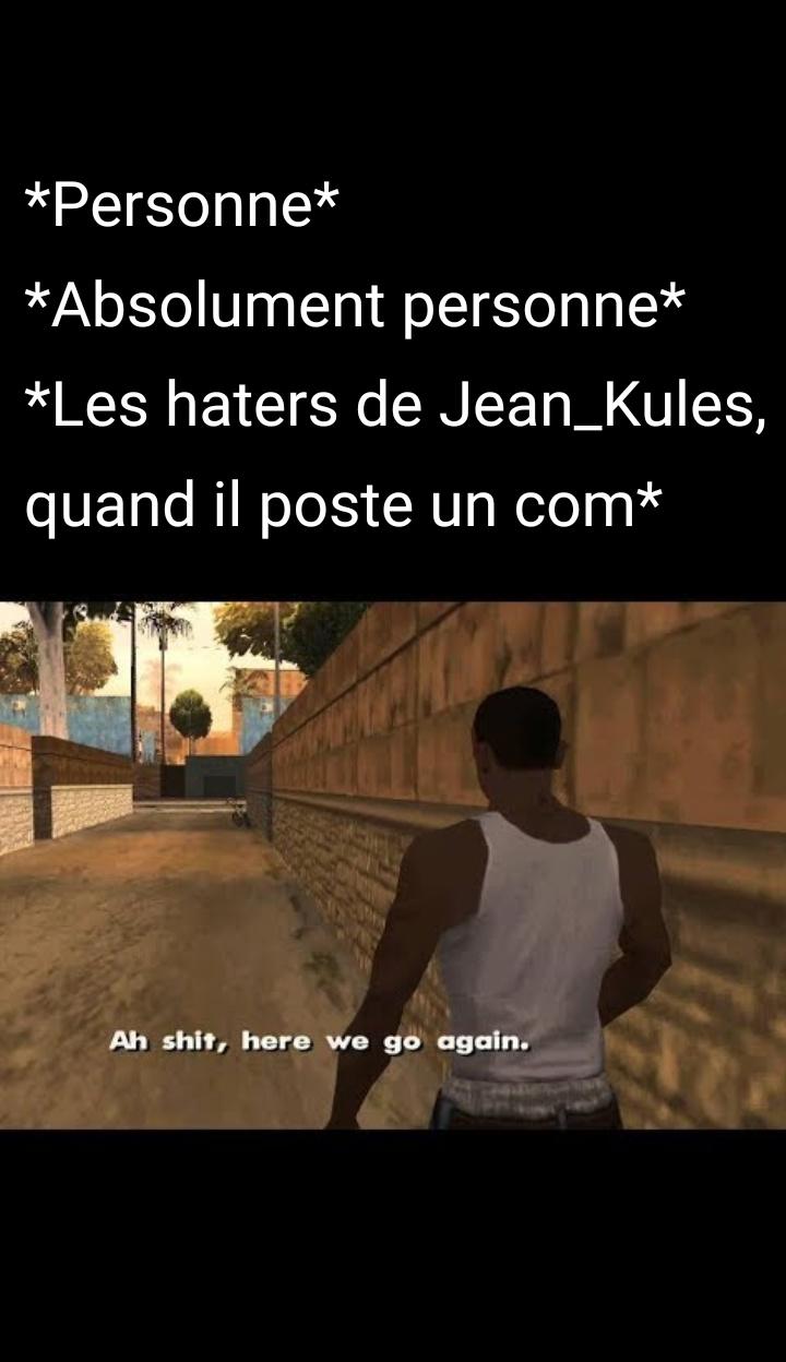C'est pas Versailles ici - meme