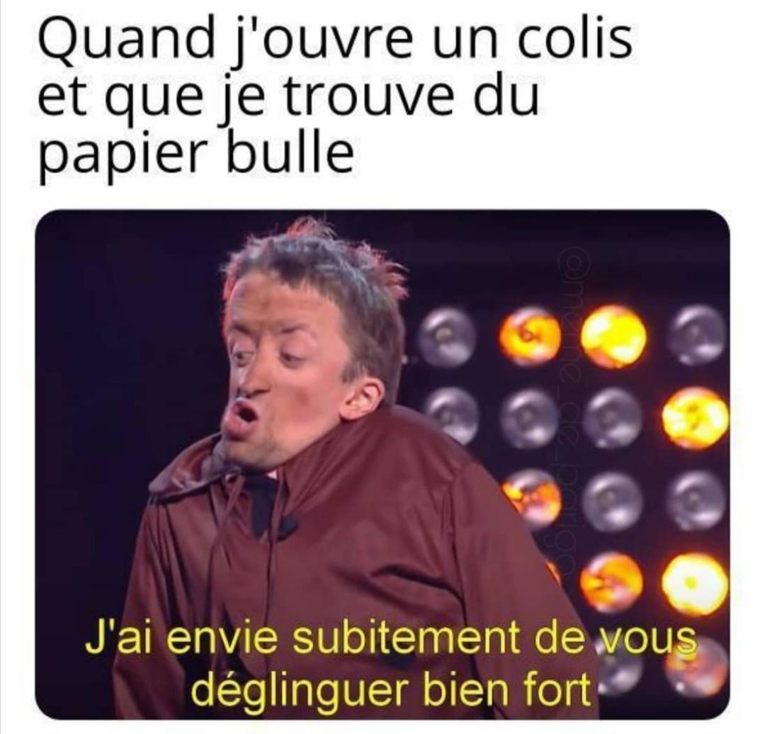 Hum papier bulle - meme
