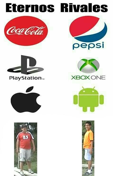 rivalidad eterna - meme