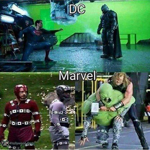 Dc vs Marvel - meme