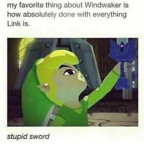 Wind Waker was the best LoZ, Change My Mind - meme