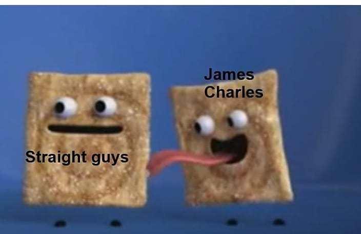 James Charles G4Y - meme