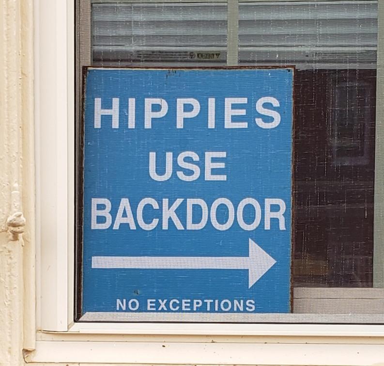 Guess I am a hippie - meme