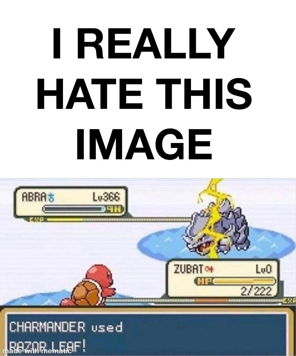 Stupid Pokémon! - meme