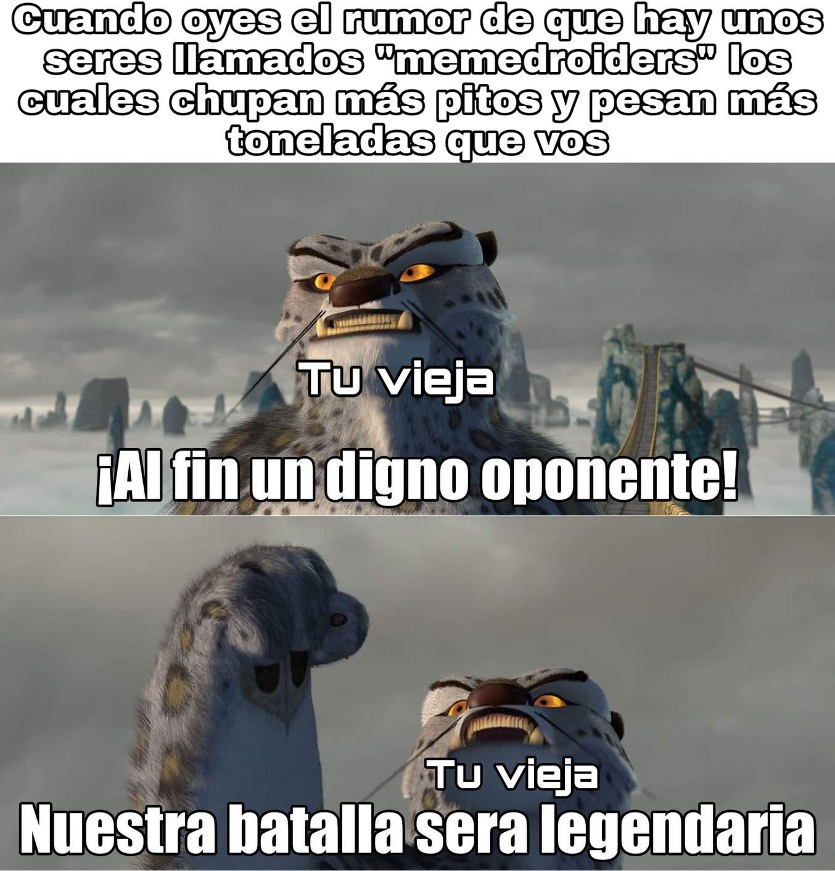 Batalla de titanes - meme