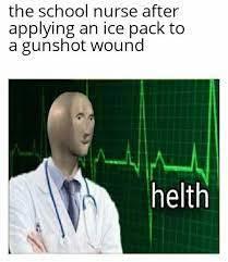 yep helth - meme