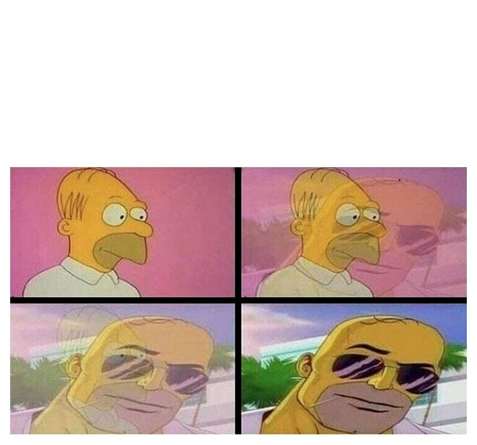 Homero gratis - meme