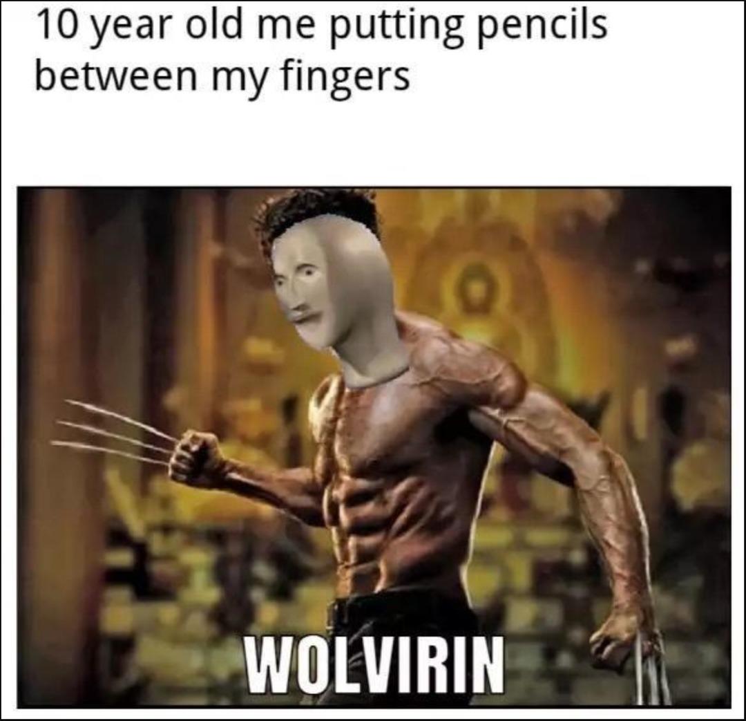 wolverine - meme