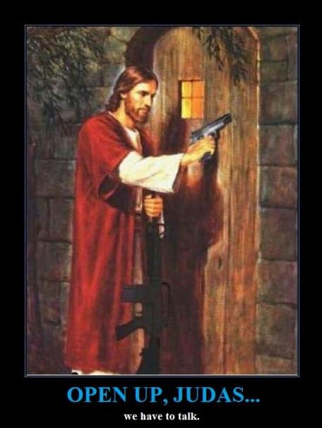 revenge , Jesus style ... - meme