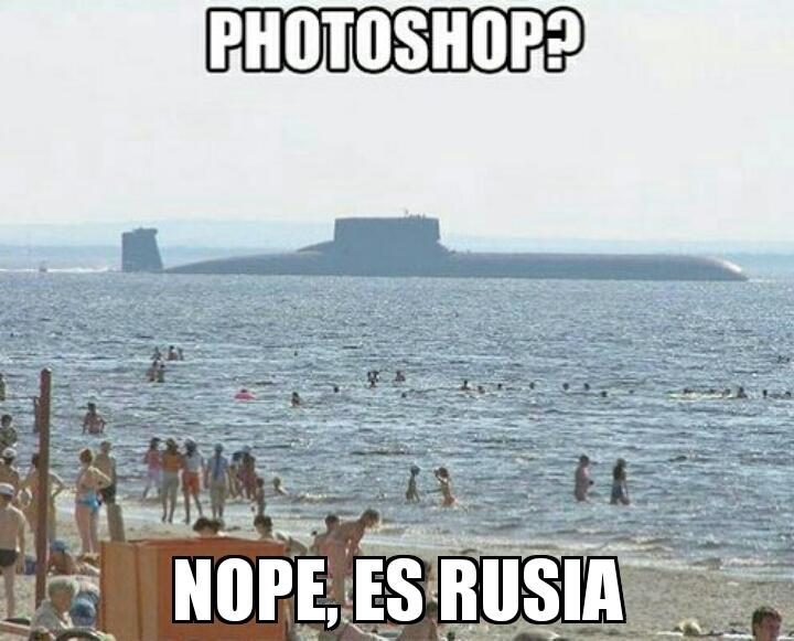 Rusia que más se podía esperar - meme