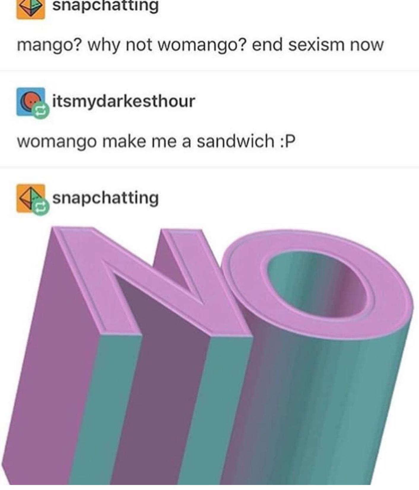 Womangive me the succ - meme