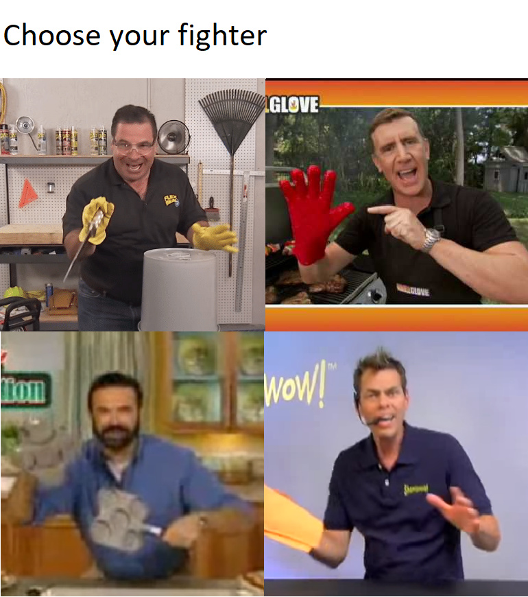 Choose your Fighter - meme