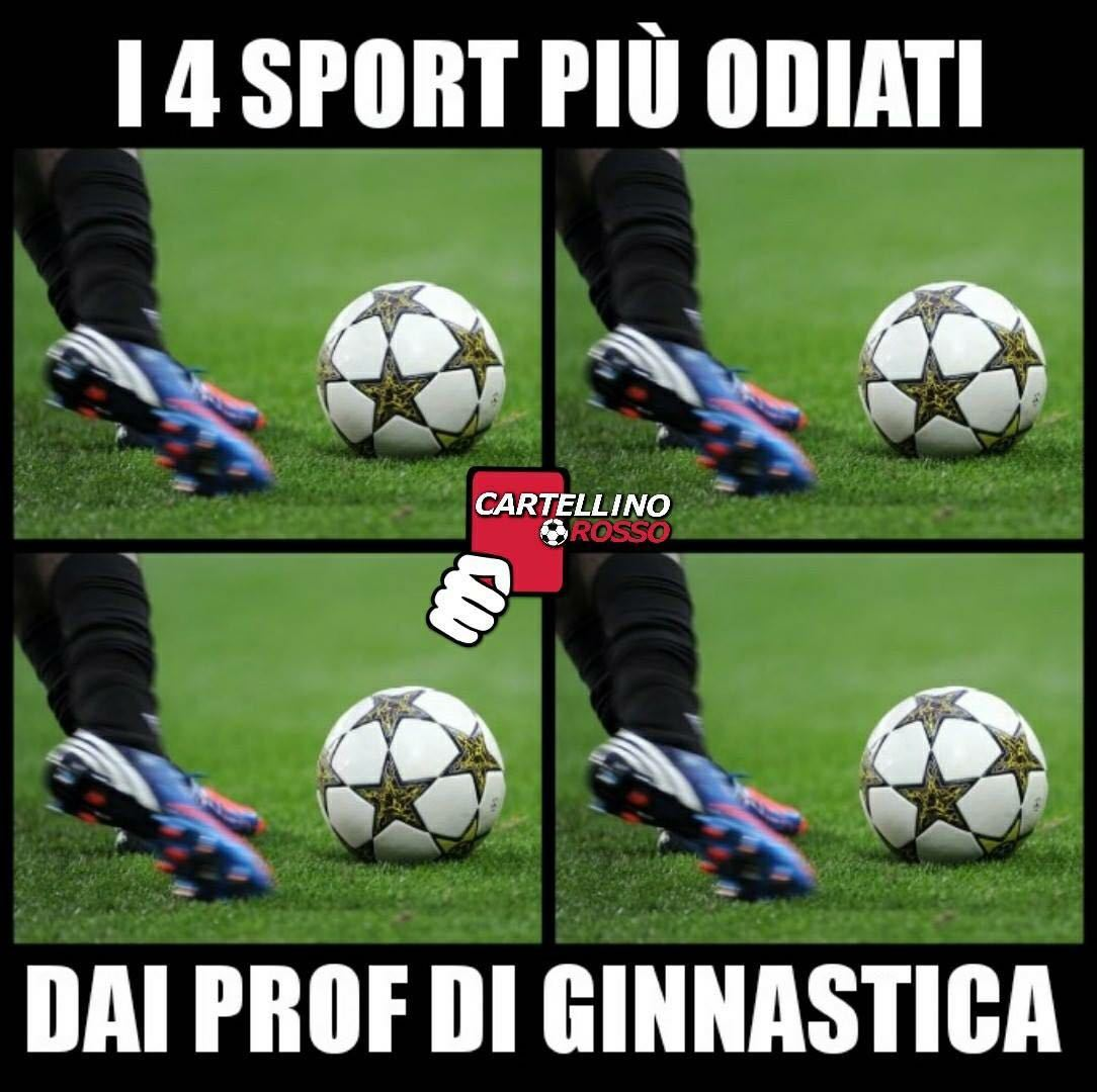 Calcio, calcio e? - meme