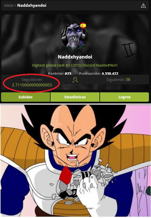 ¡Es más de nueve mil! - meme
