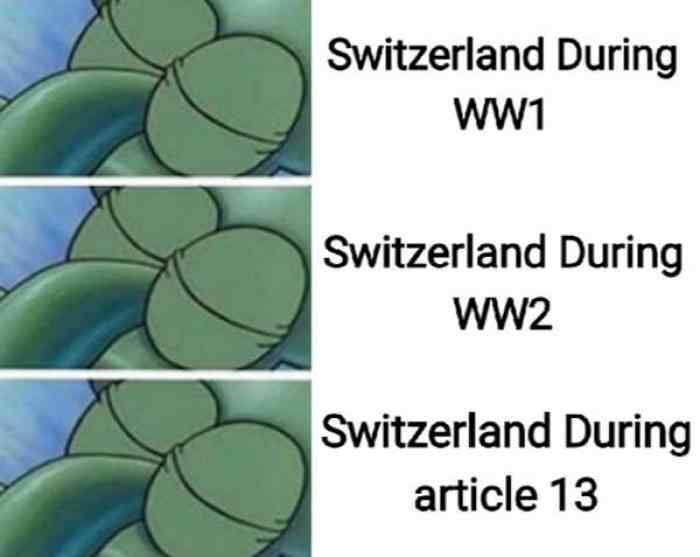 STAY NEUTRAL AND MOVE TO SWITZERLAND - meme