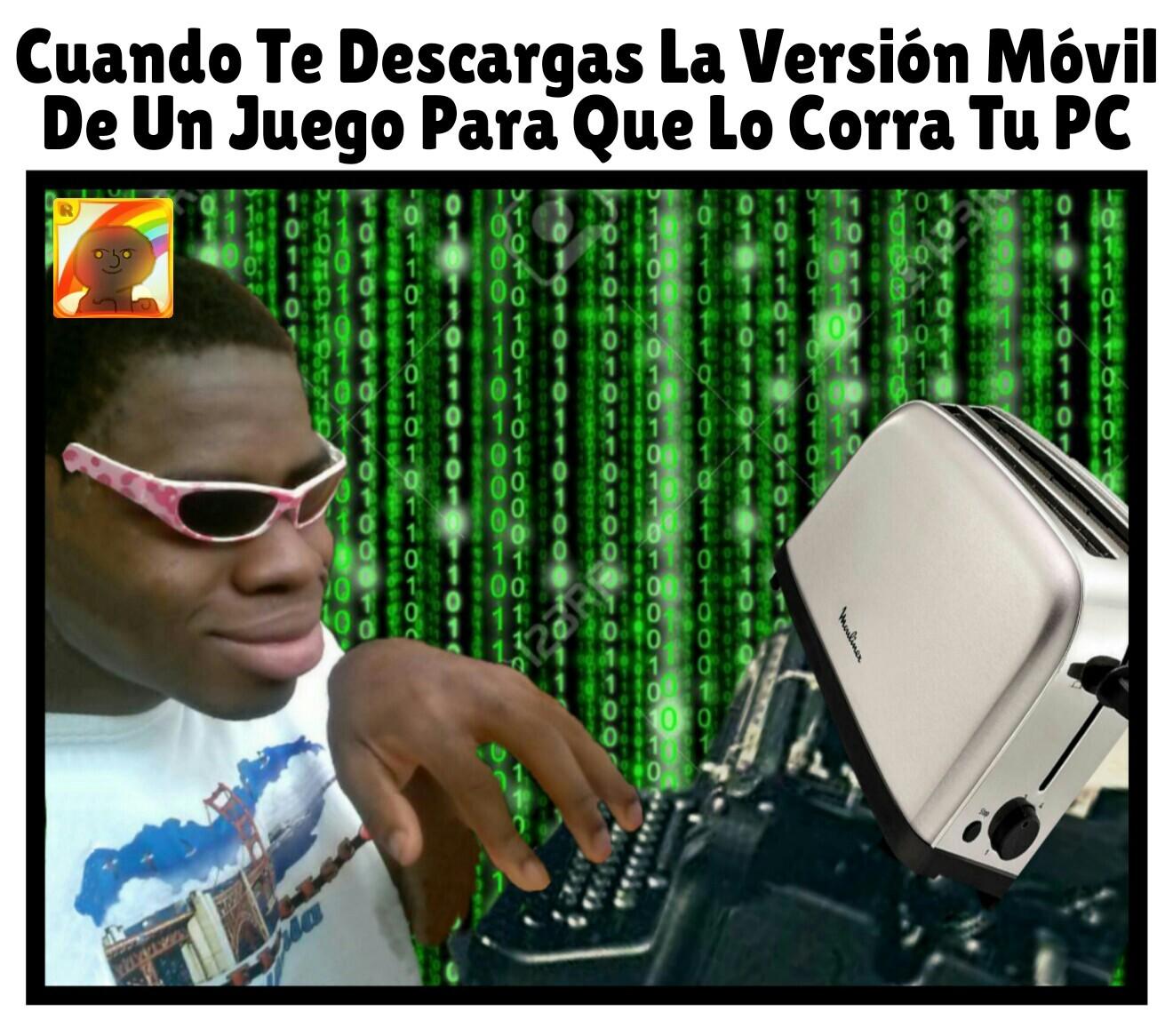 Versión Móvil - meme