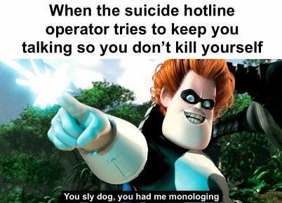 A little dark humor for today - meme