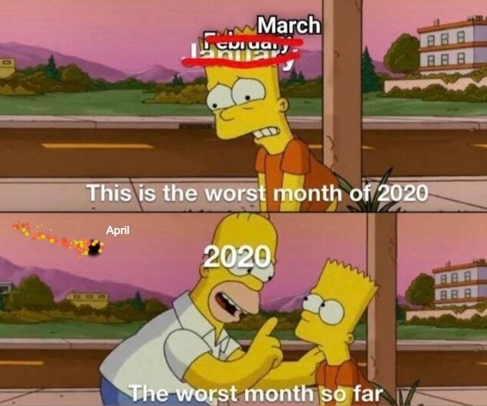 There's always next month - meme