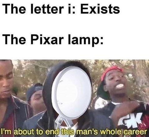 Pixar lamp - meme