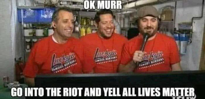 Fuck BLM - meme