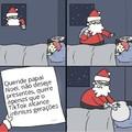 Concordo com o papai Noel
