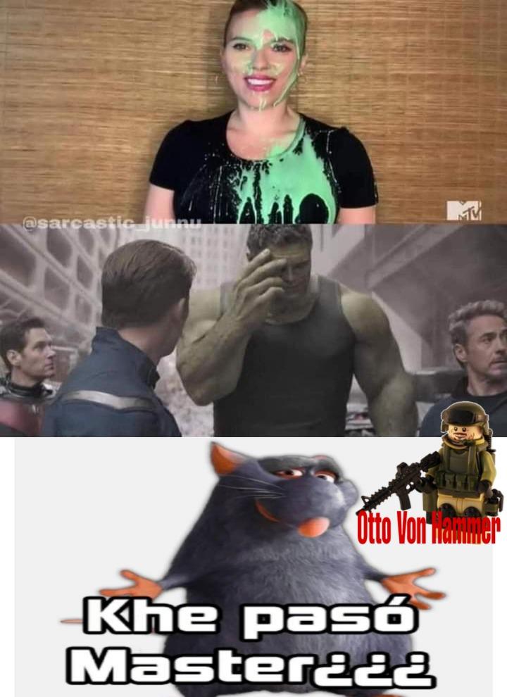 Que pedo con hulk? - meme