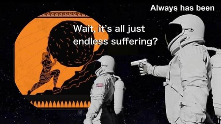 suffering - meme