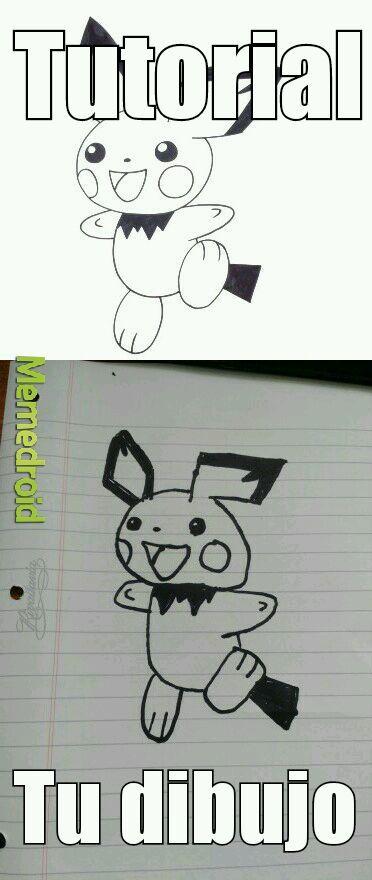 A ver si saben que pokemon es? - meme