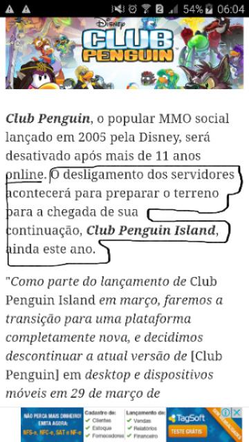 Club penguin não será desativado! \o/ - meme
