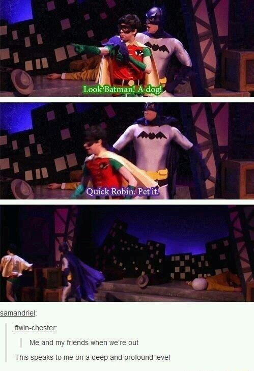Good ol' Batman - meme