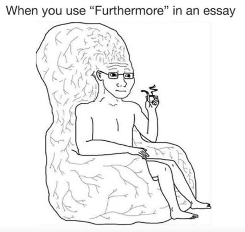 Furthermore... - meme