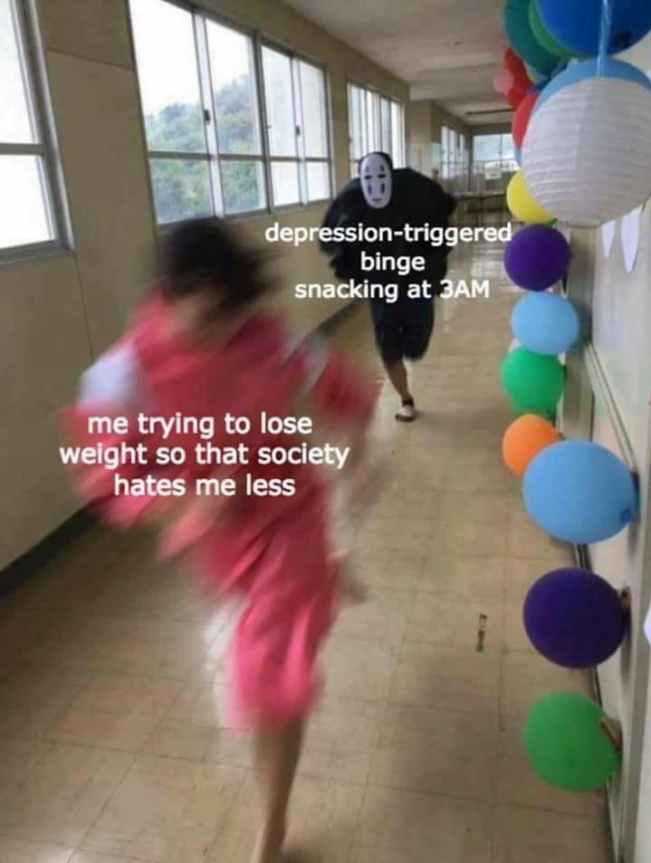 Eat your emotions - meme