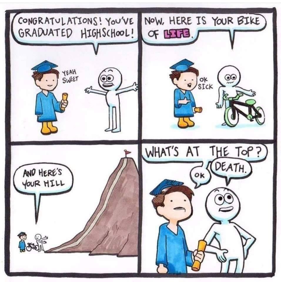 Master climber - meme