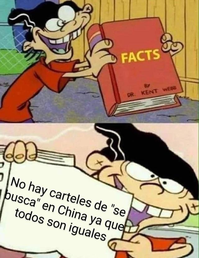 Pinches chinos - meme