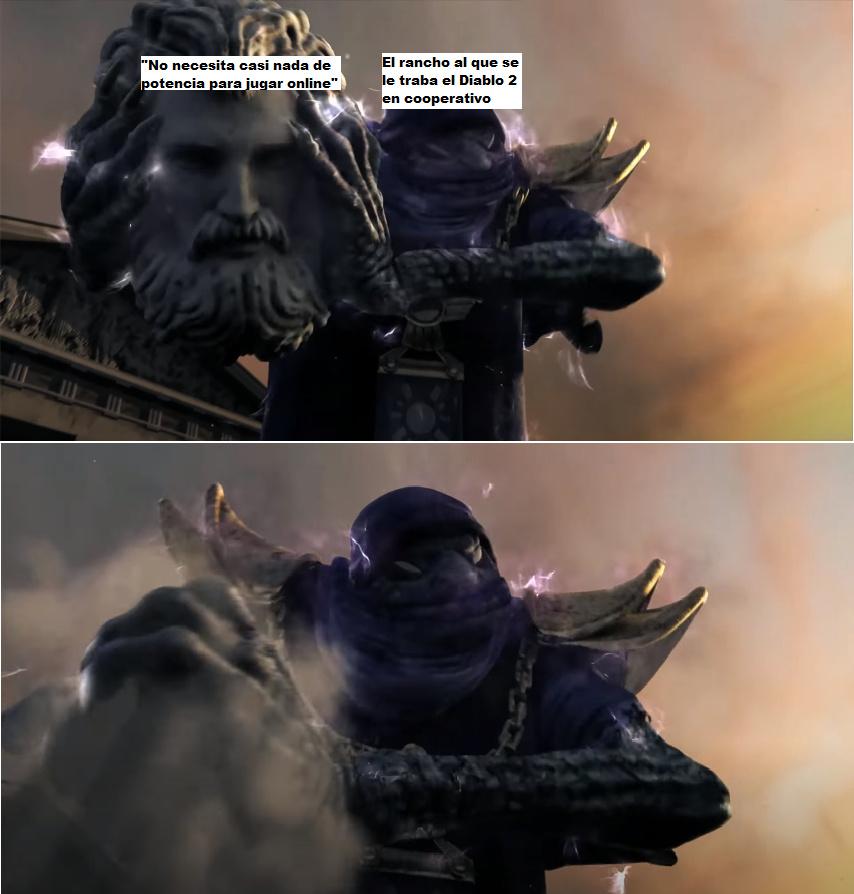 Ahí te das cuenta de tu paupérrima conexión - meme