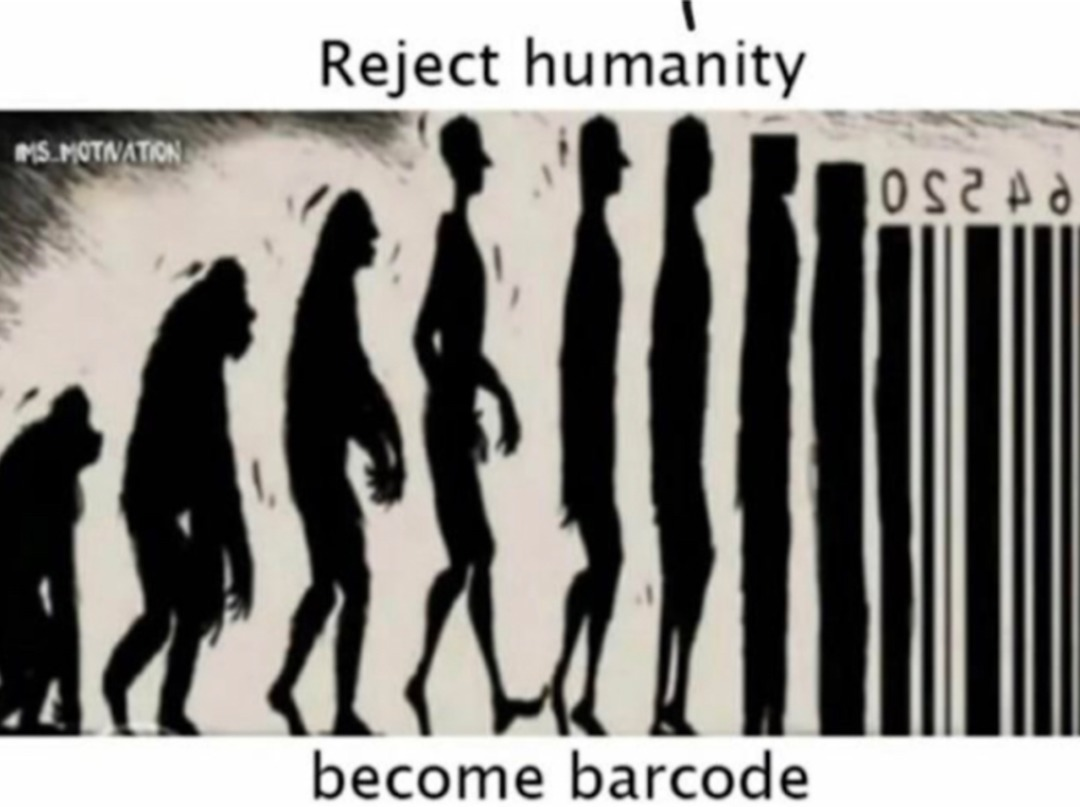 reject humanity - meme