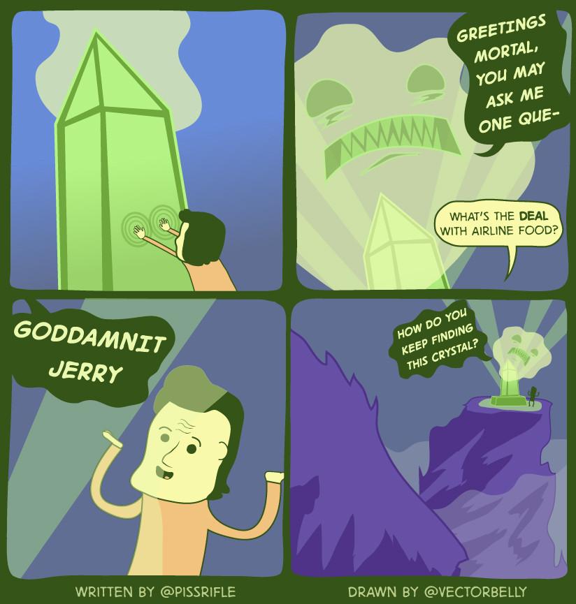 Damn jerry - meme