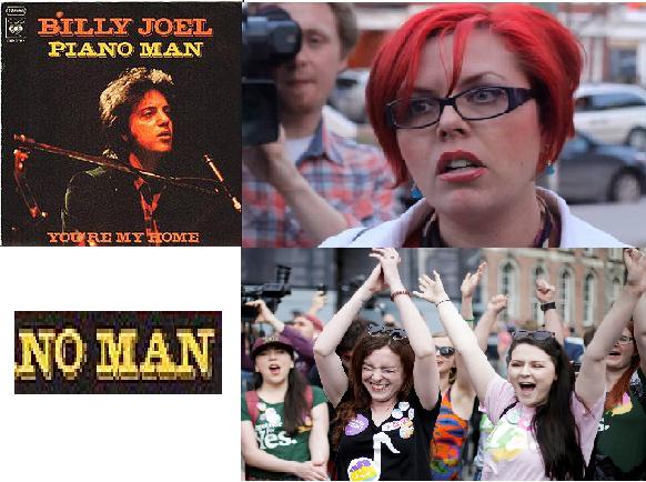 Billy Joel was an undercover feminist - meme