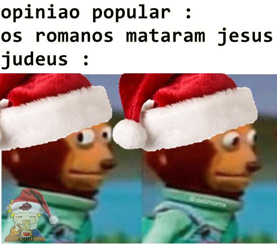 meme atrasado de natal