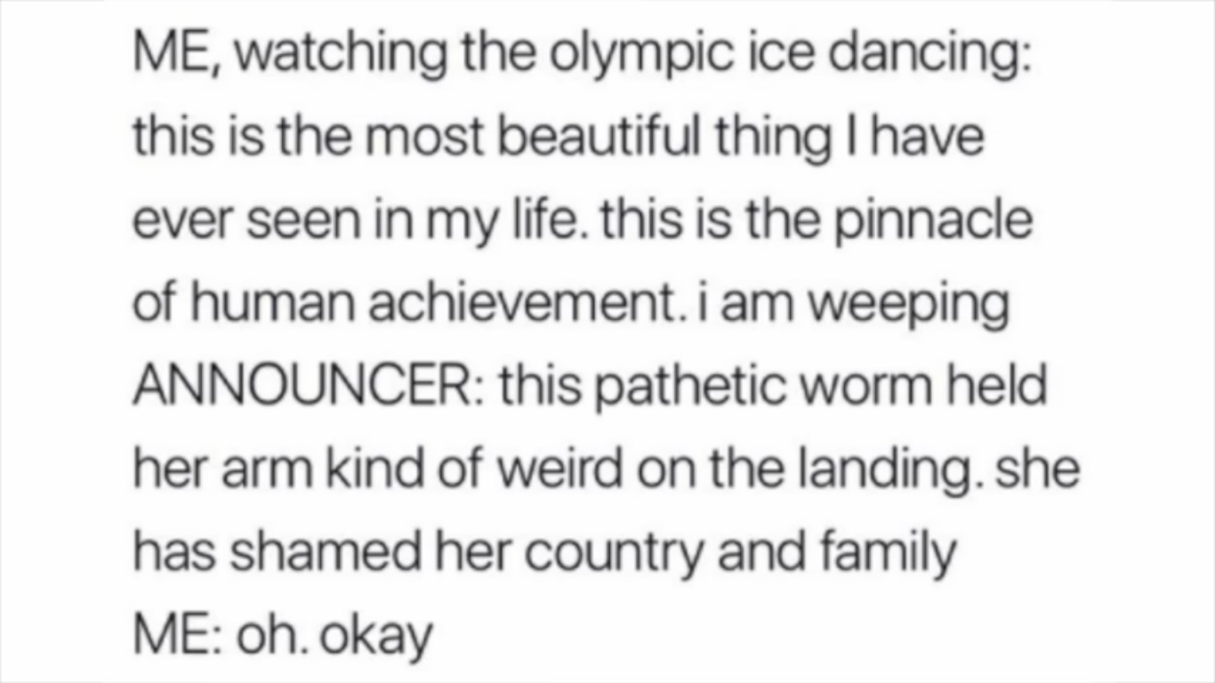Olympics Logic - meme
