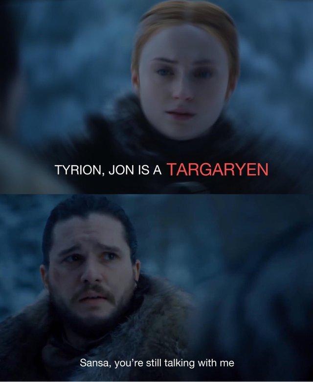 WTF Sansa? - meme