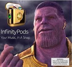 music in a snap - meme