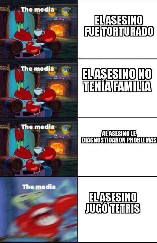 No encontré la plantilla en español - meme