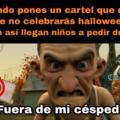Llegaron los memes de halloween :D